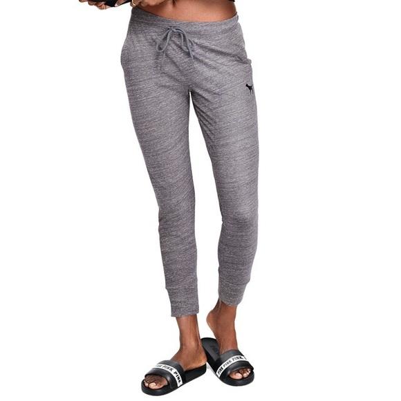 ec1e6ac6aac4f PINK Victoria's Secret Pants | Pink Skinny Joggers | Poshmark